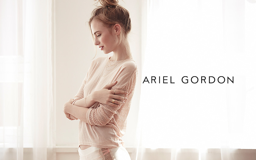 Ariel Gordon Jewelry Website